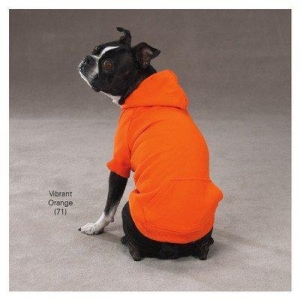 China Dogs Zack & Zoey Polyester / Cotton Basic Dog Hoodie, Large, Heather Gray, 20-Inch on sale