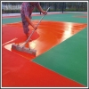 China Outdoor Rubber Gym Sport Court Playground Mat Flooring for sale
