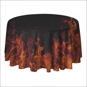 China Trade Show Table Covers Custom Round Table Covers on sale