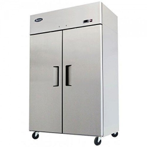 China Atosa USA MBF8002 Series Stainless Steel 52-Inch Two Door Upright Freezer  Energy Star Rated on sale