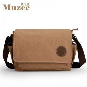 China Muzee men messenger bags school canvas single shoulder bags crossbody bag for traveling ME_8899D on sale