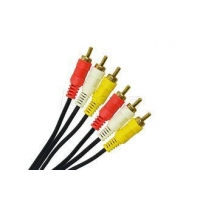 Round Special Cables RCA Video Cable 2 RCA 3 RCA Cable 2R / 3R For CCTV Cameras