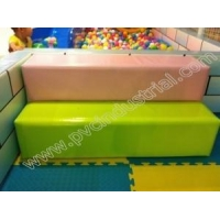 PVC tarpaulin used for wall and step of amusement park