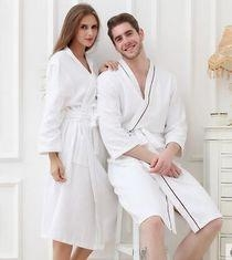 China Microfleece Bathrobe Printed Cotton Bath Towels For People Swimming on sale