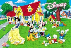 China Online Fashional Cartoon Paper Jigsaw Puzzles For Kids on sale