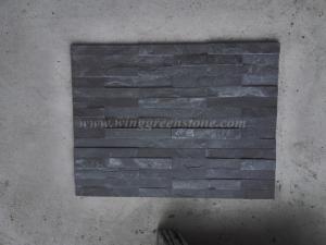 China Cultural Stone Black Slate Cultural Stone on sale