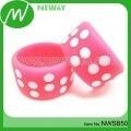 China Supply latest Style Silicone Alert Bracelet DIY on sale