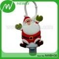 China Personalized Christmas Ornaments Silicone Hand Sanitizer Case on sale