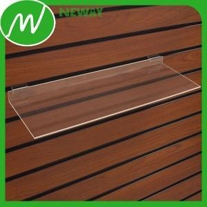 China Plastic Gear Acrylic Material Slatwall Display Stands on sale