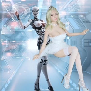 China 5.2 ft Artificial Intelligent Sex Robot Real Life Male Sex Doll Robot on sale