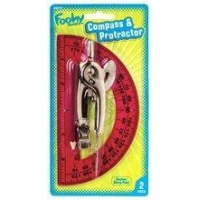 China Foohy Compass & Protractor Set on sale