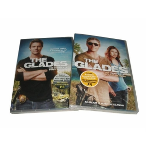 China The Glades:The Complete Seasons 1-2 DVD Boxset on sale
