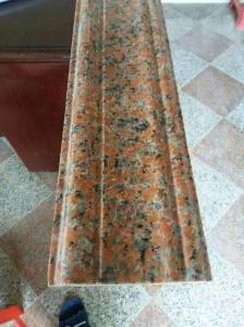 China G562 Maple Red Granite Bathroom Border Tile Ideas for Shower Tile Edge Trim in Subway Tile on sale