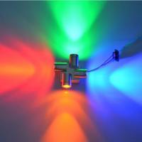 China 4W High Power RGBY Modern LED Wall Lights on sale