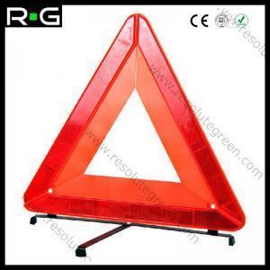 China Reflective Car Warning Triangle on sale