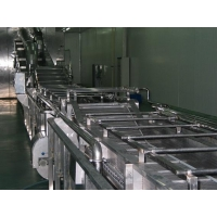 China Vegetable and Fruit Washing Blanching Cooling Line on sale