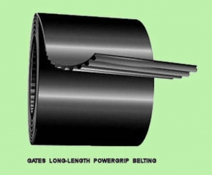 China 10' Gates Long Length PowerGrip Timing Belting LL100L / 93140015 / 9314-0015 on sale