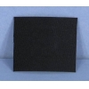 China 1' x 1mm Crafts Flat Belting / Strong Rubber Hinge Black Habasit Craft Material for sale