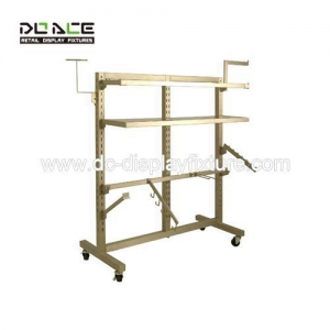 China Rolling and Round rack Standing upright unit display rack on sale