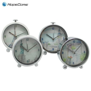 China Modern Best Metal Table Alarm Clock on sale