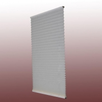 Normal Pleated Shades(blinds) with Cordless System, Light Filtering and Blackout