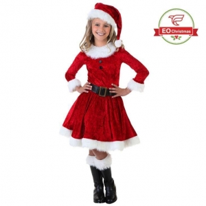 China Children Santa Claus Costume on sale