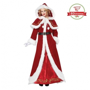 China Deluxe Santa Claus Costume on sale