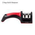 China Professional 2 Stage Knife Sharpener Kit,Manual Kitchen Knife Sharpener Steel on sale