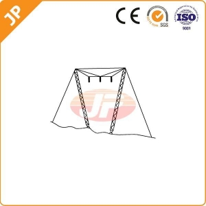 China Guyed cross-rope suspension tower on sale