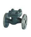 China Marine valve GB/T586-1999Marine Cast Steel Flanged Check Valves on sale