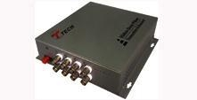 China Video Converter 8-Channel Fiber Optic Video Converter on sale