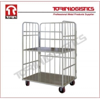 Warehouse roll container manufacturer powder-coated. (L1450*W700 mm/OEM)