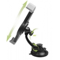 China Car Windshield Tablet Holder / Ipad Car Stand Mounting Bracket 360 Rotating on sale