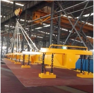 China Large Power Electromagnet Lifting Steel Plate Electric Lifting Magnet on sale