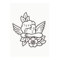 Carved angel headstones newitem183847756