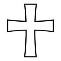 "Religious Headstone Design 3001--""Father Forgive Them..."""