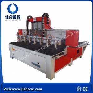 China Multi Spindle 3 Axis Control Motor CNC Wood Carving Machine on sale