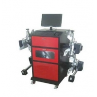 China Automatic auto tracking 3D wheel alignment with global vehicle database on sale