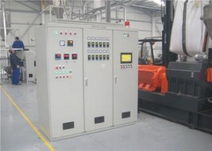 China High Performance Plastic Pellets Making Machine Line With Double Stage Extruders on sale