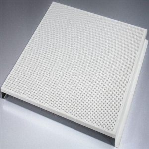 China Perforated Aluminum Corrugated Panels for Ceilings on sale