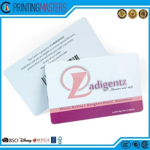 China Glossy Finish Plastic Membership Card Printing Plastic on sale