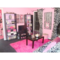 Bedroom Pink Zebra Bedroom