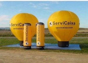 China Colorful Inflatable Hot Air Balloon , Custom Advertising Blow Ups With Logo on sale