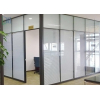 Insulation Aluminium Office Partition System Glass Wall Partition For Individually Space