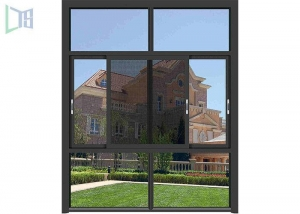 China Economic Aluminium Replacement Windows , Space Saving Double Glazed Sliding Windows on sale