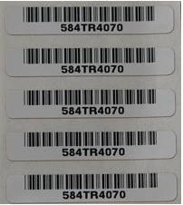 China High temperature self-adhesive label on sale