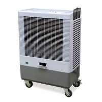 Centrifugal Air Cooler 180W 6000 m3/h Portable Air Cooler Number: CYP-6000