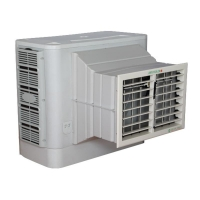 Centrifugal Air Cooler 250W 8000 m3/h Portable Air Cooler Number: CY-03CM
