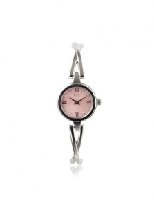 China ESQ Movado Women's 07101358 Sienna Pink Diamond Dial Bangle Bracelet Watch on sale
