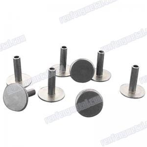 China 201704131287Carbon steel Semi-Tubular Rivets blackened on sale
